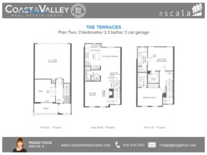 Plan 2 Terrace | Coast and Valley Real Estate Group