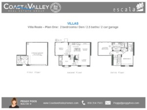 Plan 1 Villas | Coast and Valley Real Estate Group